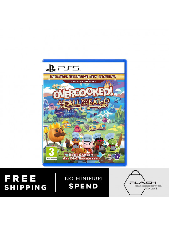 PS5 : Overcooked - All You Can Eat