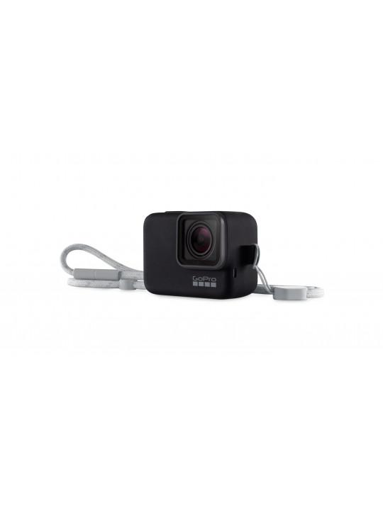 GoPro Sleeve + Lanyard Black