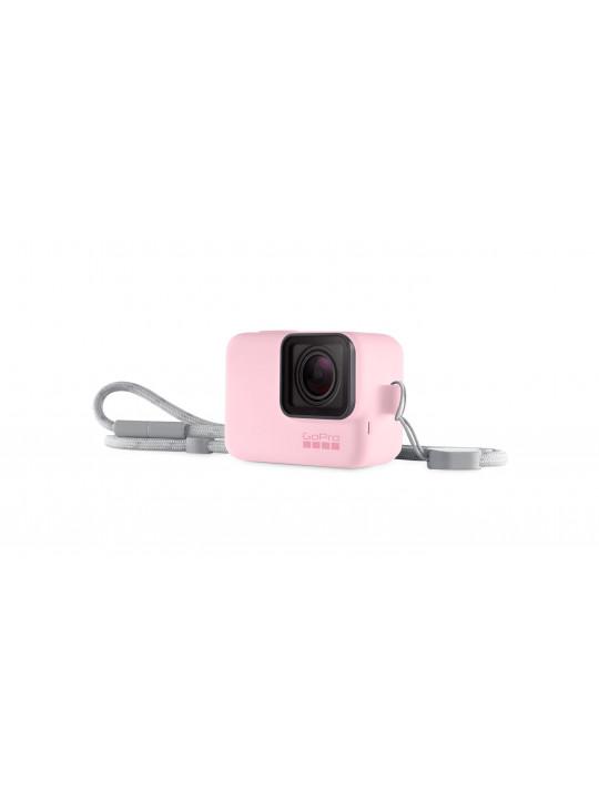 GoPro Sleeve + Lanyard Pink