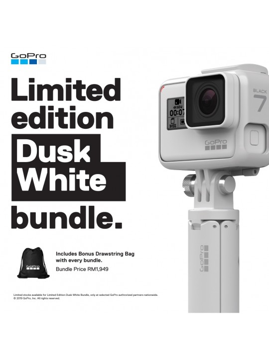 GoPro Hero 7 Black - Limited Edition Dusk White