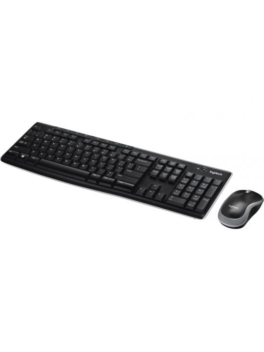 Logitech MK270R Wireless Keyboard + Mouse Combo