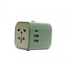 Monocozzi | Bon Voyage | Travel Adaptor 4.5A Dual USB & USB-C