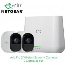 Netgear Arlo Pro 2 | 2 Cameras Set