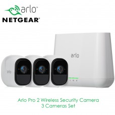 Netgear Arlo Pro 2 | 3 Cameras Set