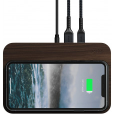 Nomad Base Station Walnut Edition