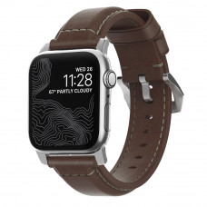 Nomad Classic Leather Strap For All Apple Watch Series (42/44MM)