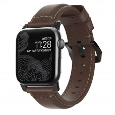 Nomad Horween Classic Brown Leather Strap For All Apple Watch Series (38/40MM)