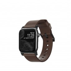 Nomad Modern Leather Strap For All Apple Watch Series 42/44mm
