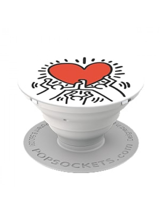 PopSockets 3 Figures Holding A Heart