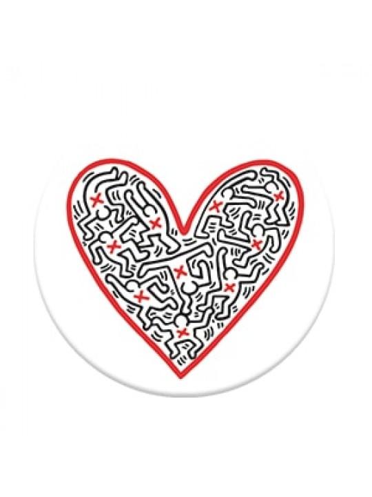 PopSockets Figures In A Heart