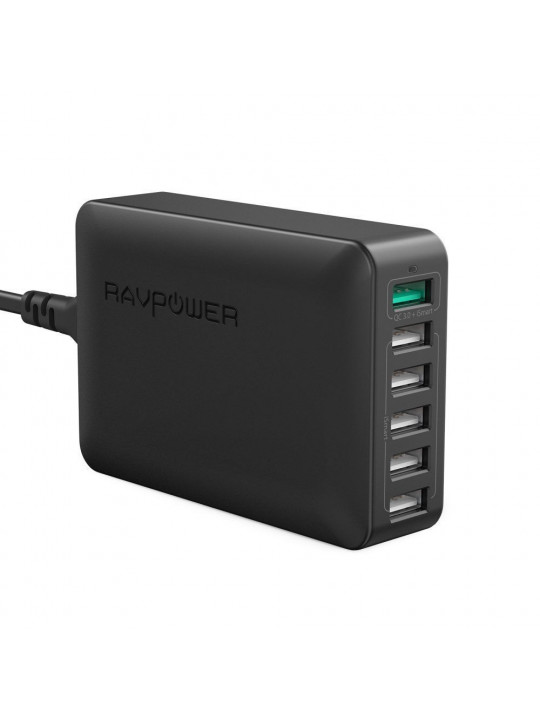 Ravpower 6-Port QC3.0 Desktop Charger