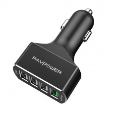 Ravpower 54W 4-Port QC3.0 Car Charger