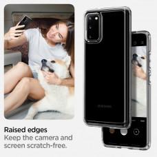 Spigen Crystal Hybrid Clear Case For Samsung Galaxy S20