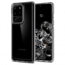 Spigen Crystal Hybrid Clear Case For Samsung Galaxy S20 Ultra