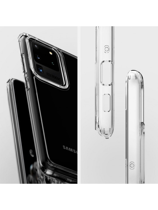 Spigen Crystal Hybrid Clear Case For Samsung Galaxy S20 Ultra